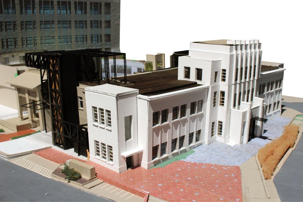 宜蘭美術館立體模型