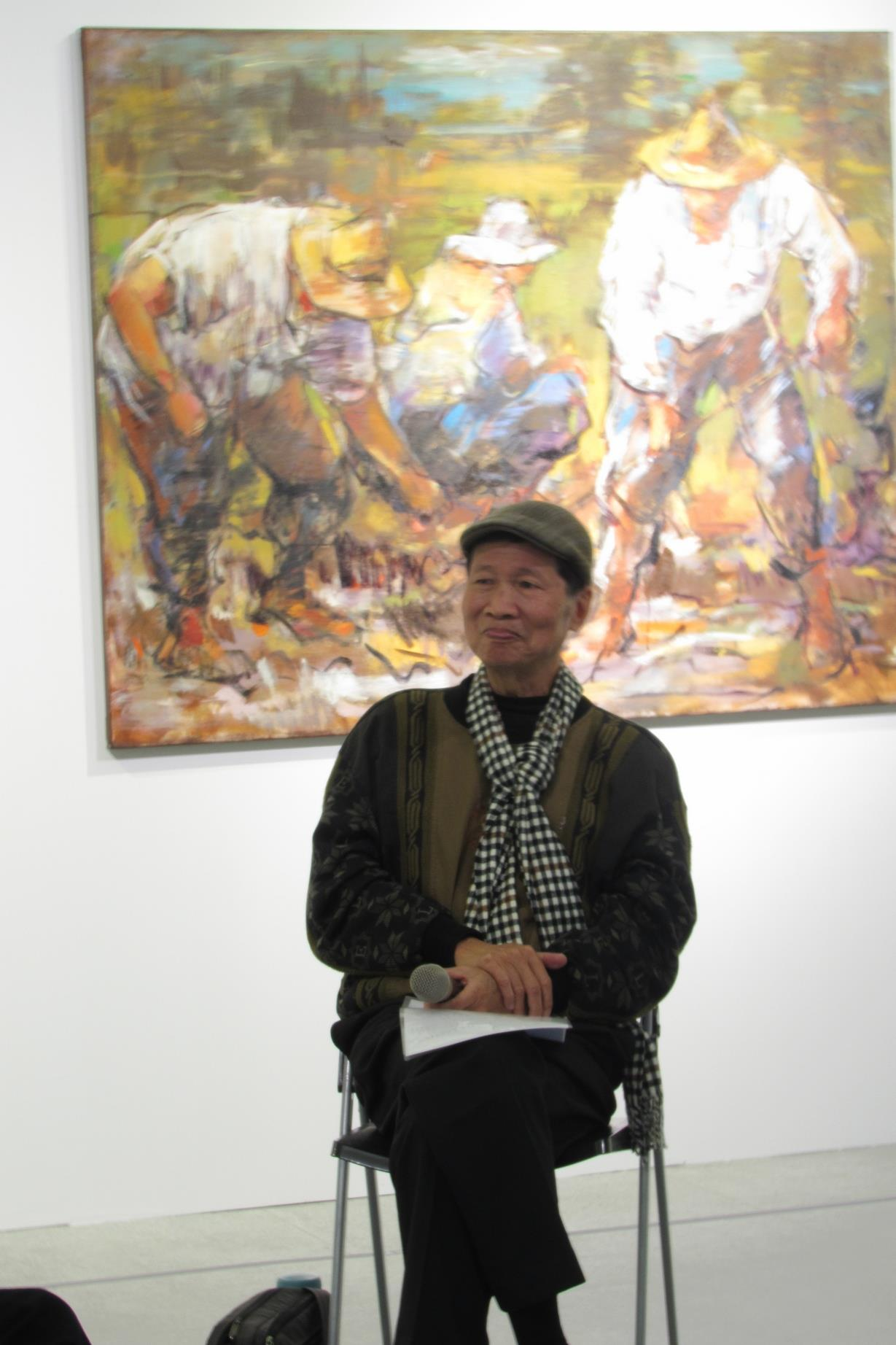 《無名·吾民—黃玉成個展》漫談 - 與藝術家對話
