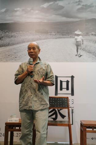 藝術家吳炫三教授致詞