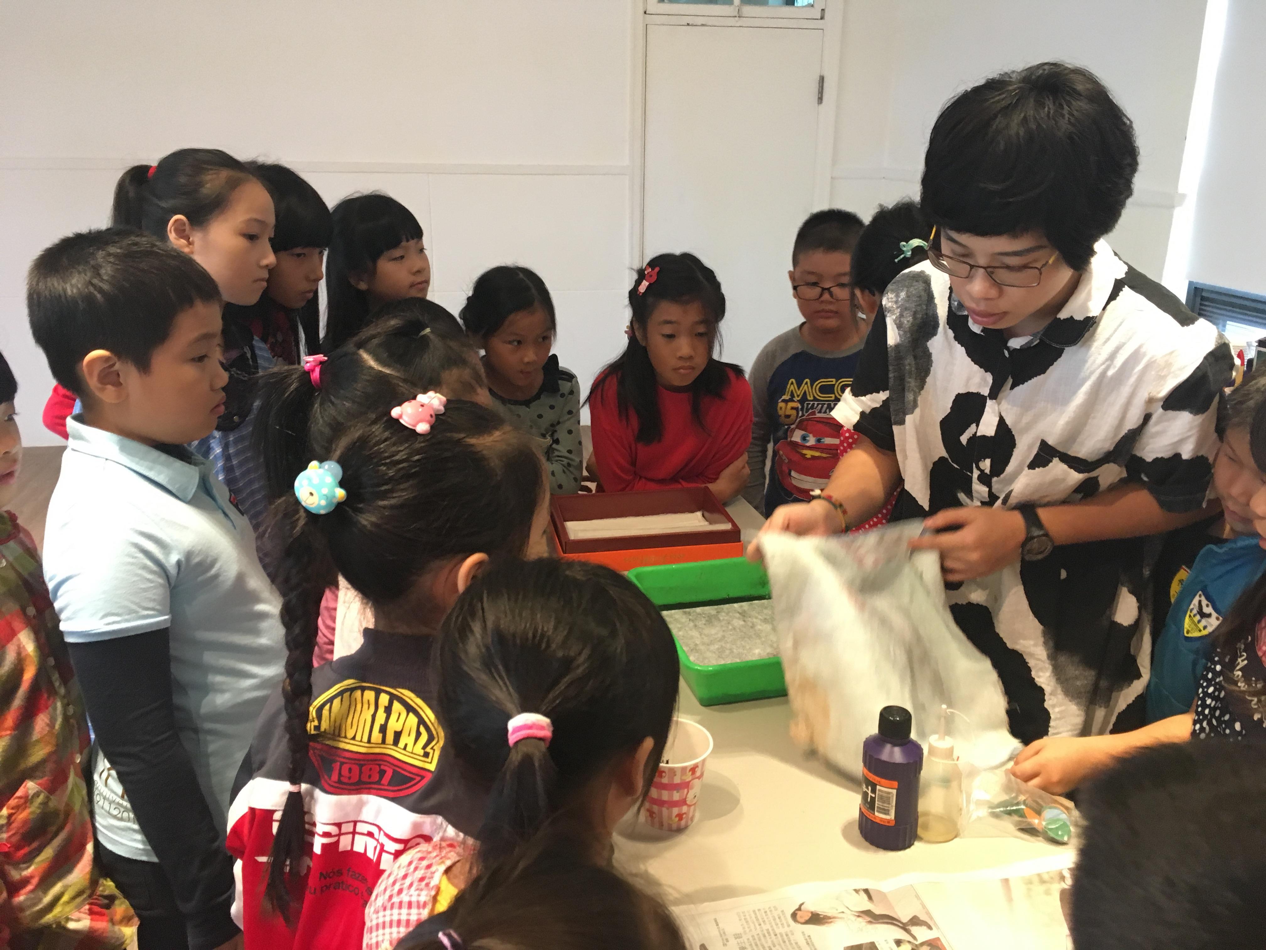 「水墨遊戲」兒童美術體驗課程2