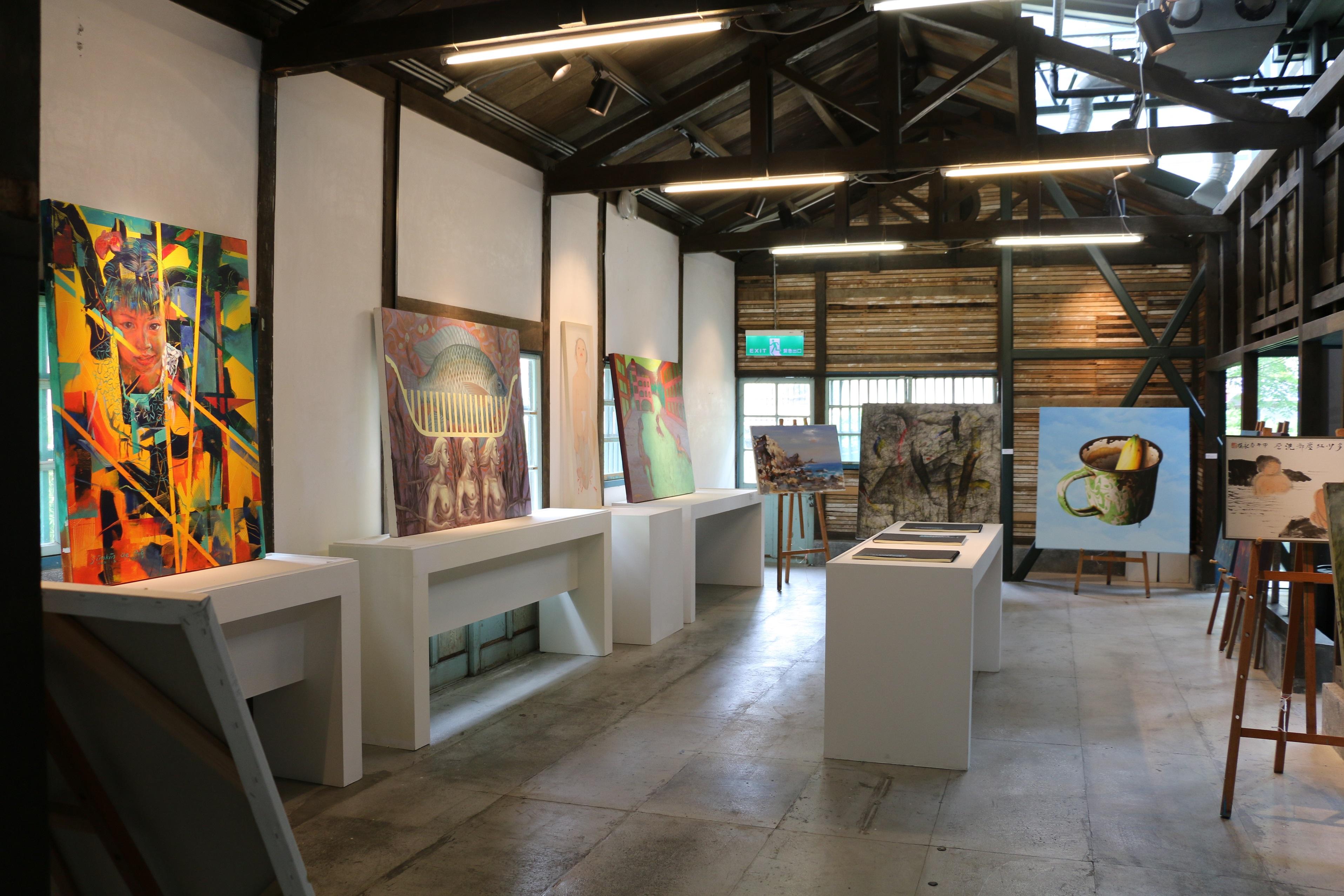 「征途─歸人:吳炫三個展」與2018礁溪國際藝術創作營交流活動