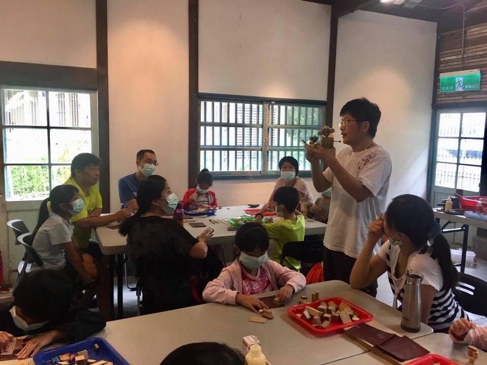 吳炫三個展教育推廣活動─木頭人(親子課程)