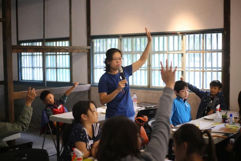 【教育推廣】水彩體驗課程「蘭的好年」
