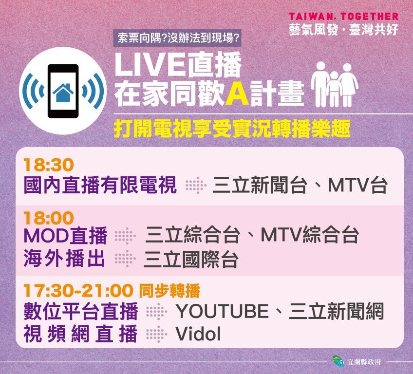 國慶晚會_line宣傳(A、B計畫