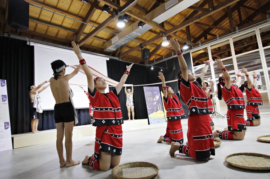 影像興樂園主題影展-國華國中原住民舞蹈社開場演出
