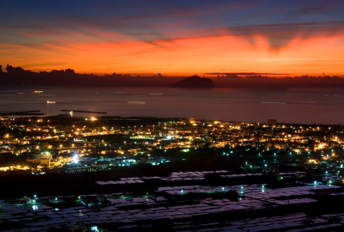北宜公路跳蘭陽平原晨景