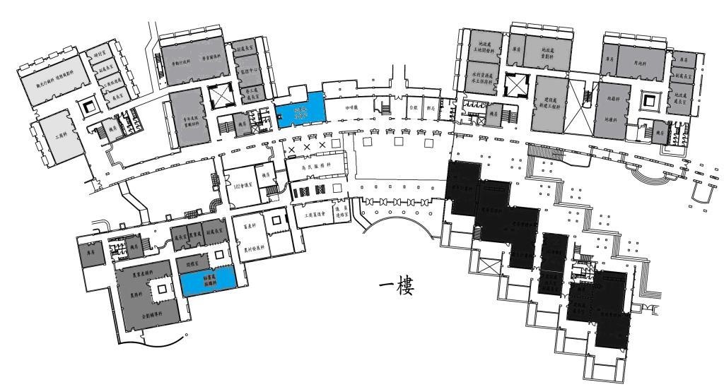 辦公室位置圖一樓
