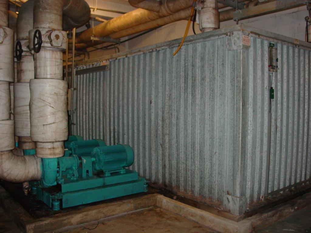 使用省能之儲冰式空調系統