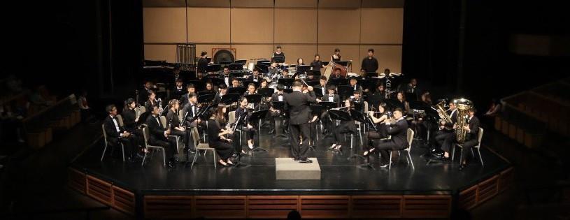 蘭陽管樂團合奏照