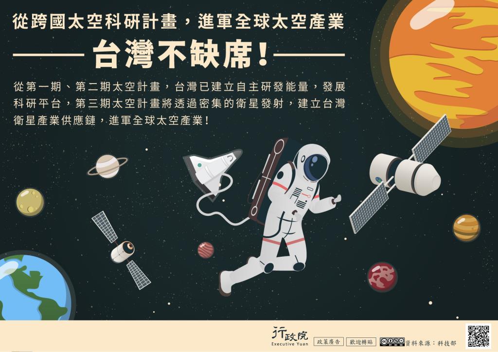 台灣進軍全球太空產業