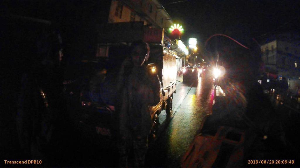 民眾車輛山區夜間拋錨 三星警暖心協助