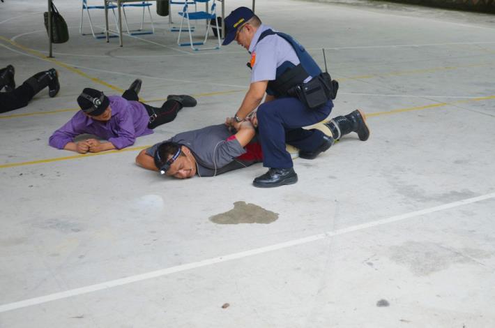 山地警備治安演訓演練測拍