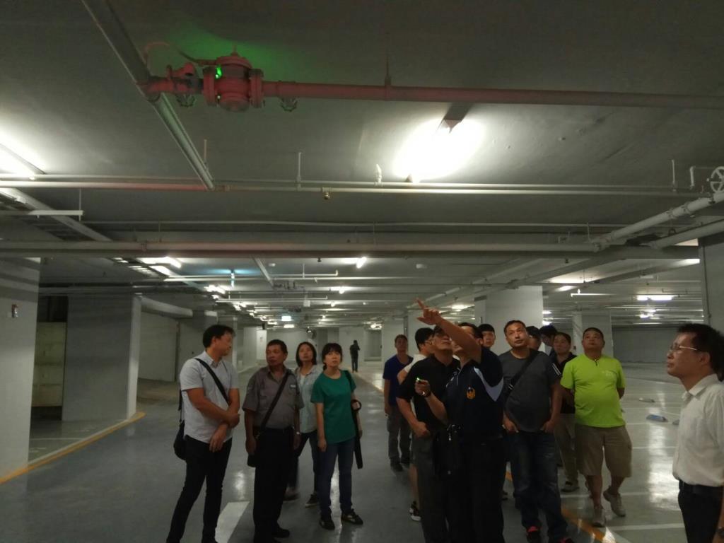 宜蘭縣政府消防局辦理「107年宜蘭縣高層建築物防災中心值勤人員訓練初訓班