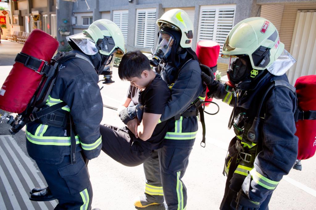 自衛消防編組驗證暨救災組合訓練
