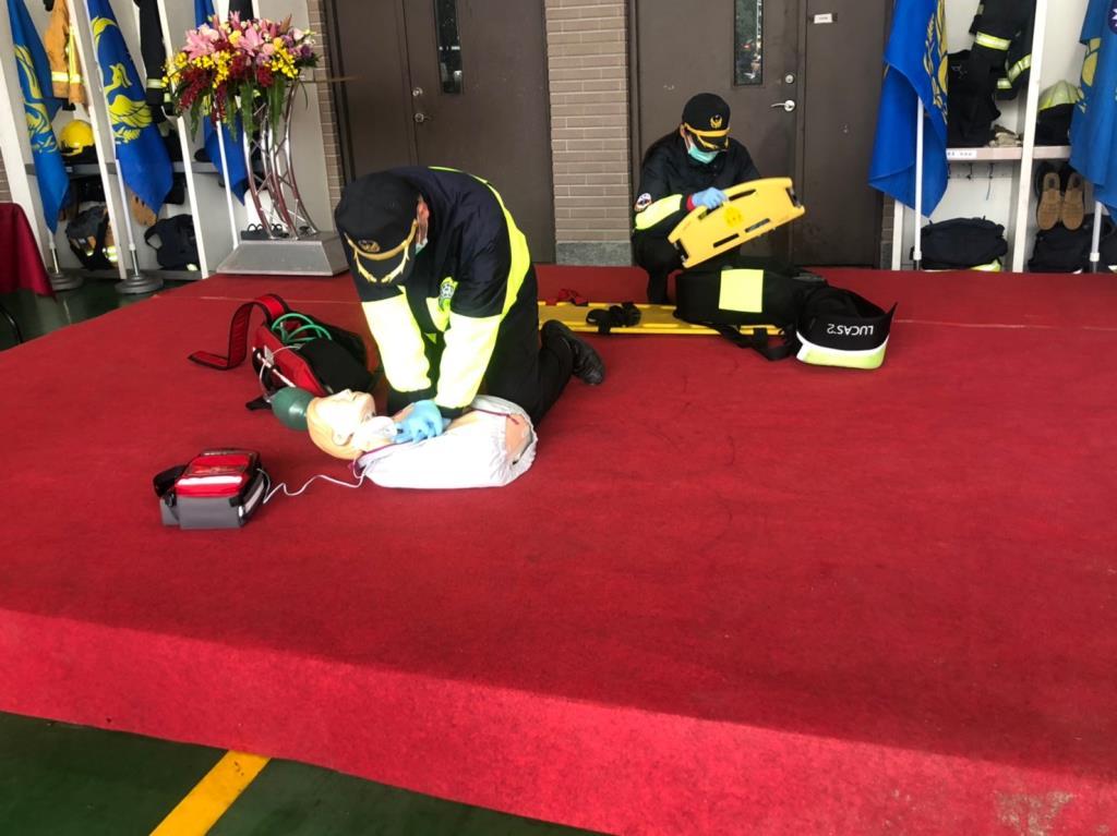 捐贈LUCAS及AED