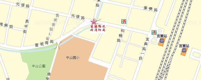 本局位置於光復路及舊城南路旁