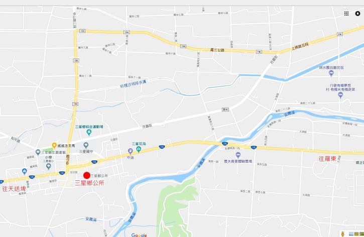 三星鄉公所位置圖