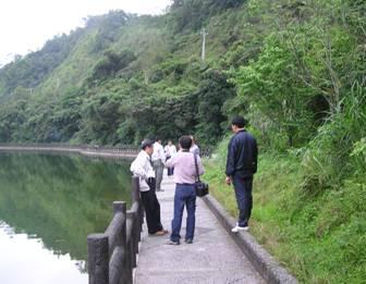 於長埤湖進行生態評估