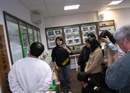 為學員解說復育流程課程