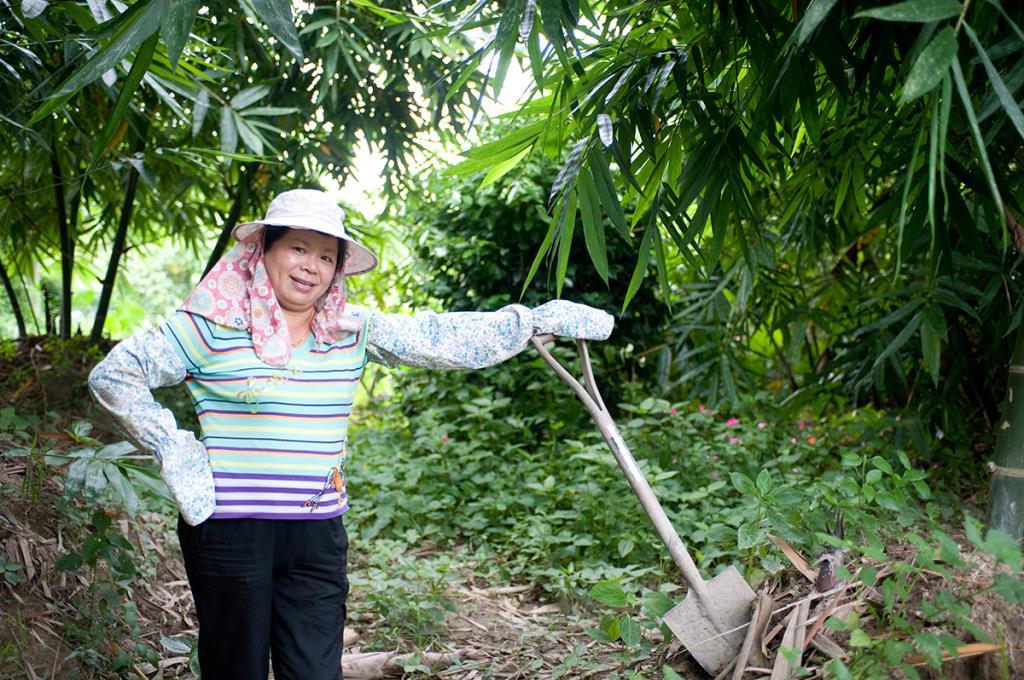 位於竹筍園的張媽媽