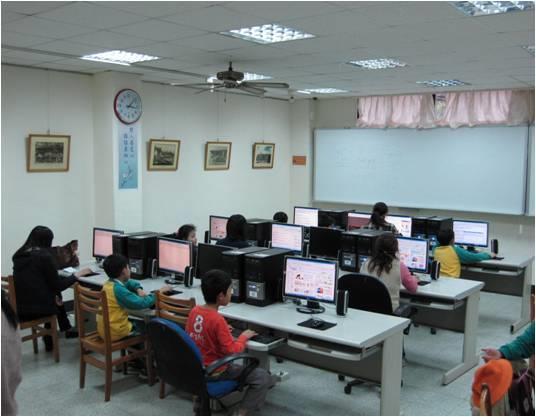 圖書館電腦資訊站