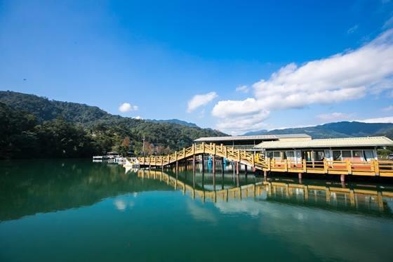 大湖風景遊樂區園區內的拱橋