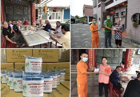 強化環保意識與垃圾分類~頭城挨戶發送透明垃圾袋