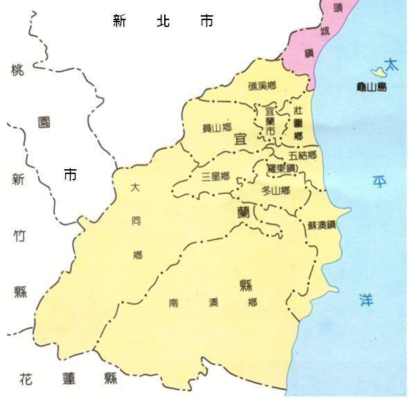 位置區域圖
