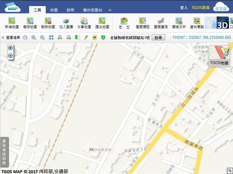 頭城鎮街道圖
