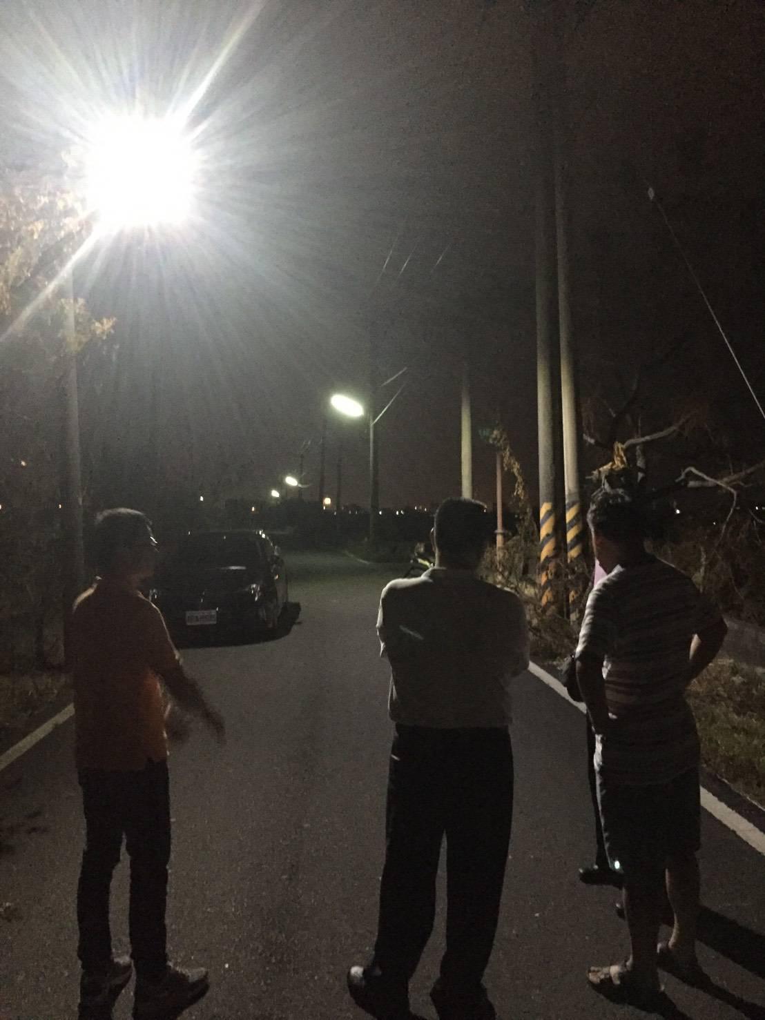 2017尼莎颱風勘災視察作業
