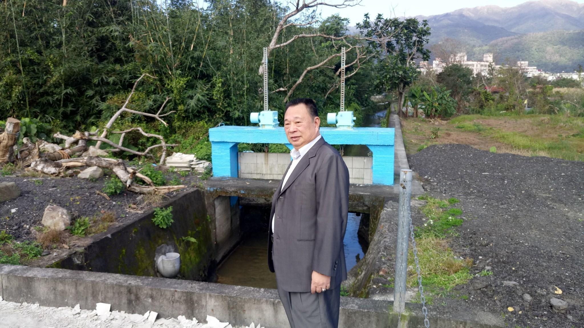 烏一號C幹線雨水下水道工程 開工前記者會(107.01.16)