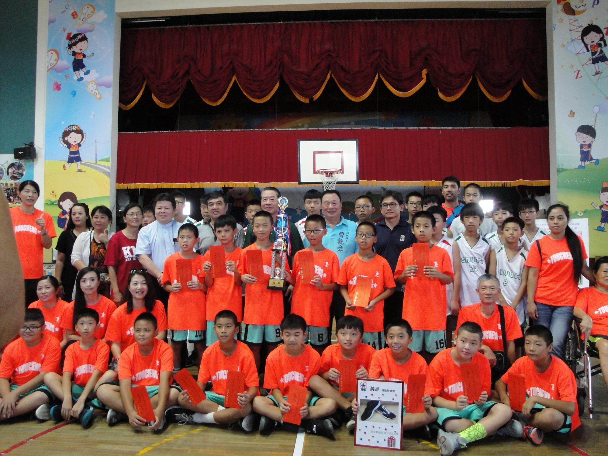 頭城國小夏季少年籃球賽全國奪冠