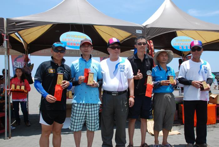 音浪木球錦標賽頒獎儀式共2張相片
