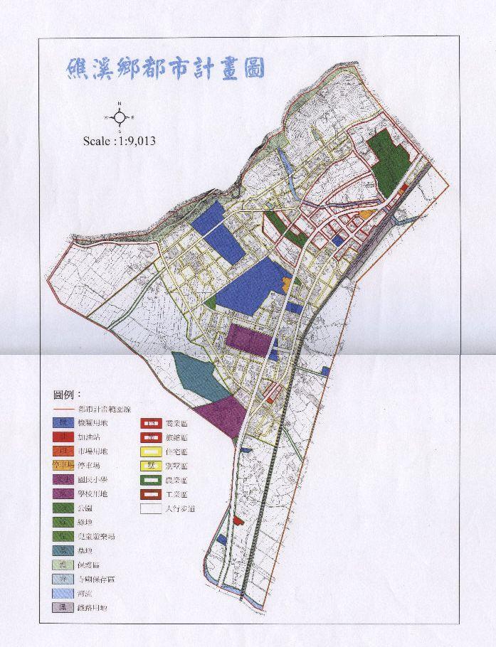 礁溪鄉都市計劃圖