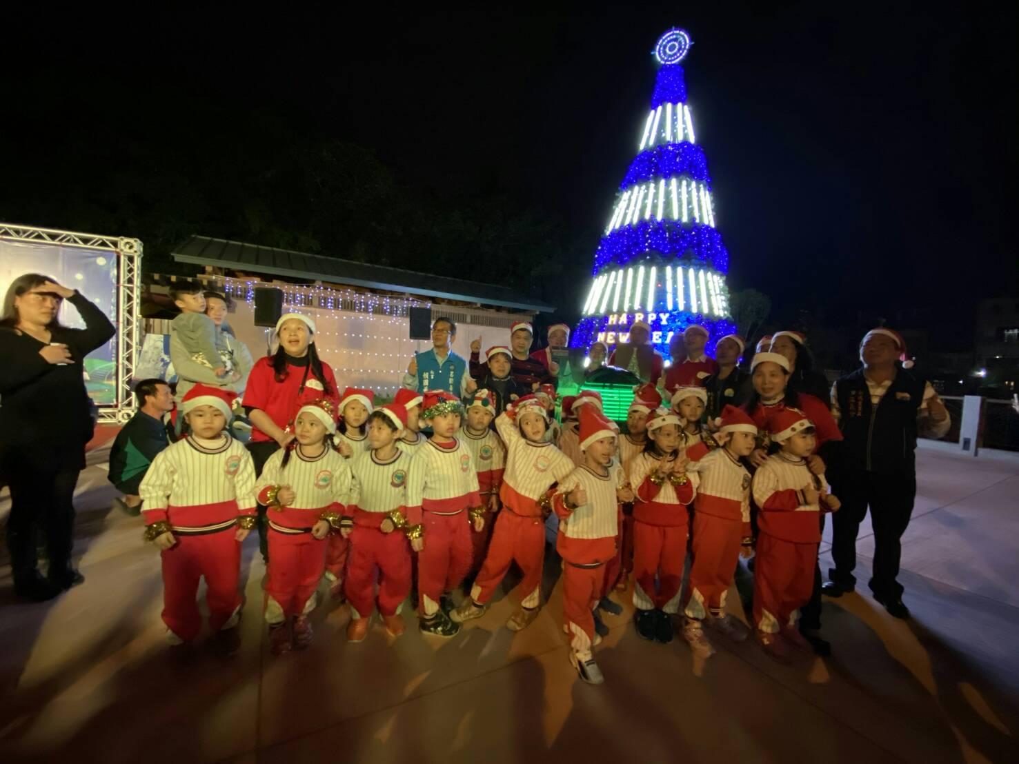 「蘇澳亮起來‧海洋聖誕樹點燈儀式記者會」表演活動合影2
