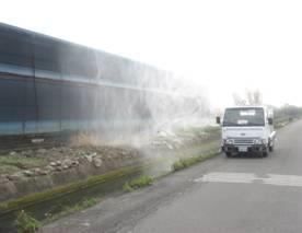 家禽場及周邊環境消毒