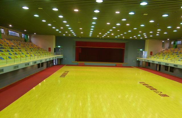 體育館內部圖