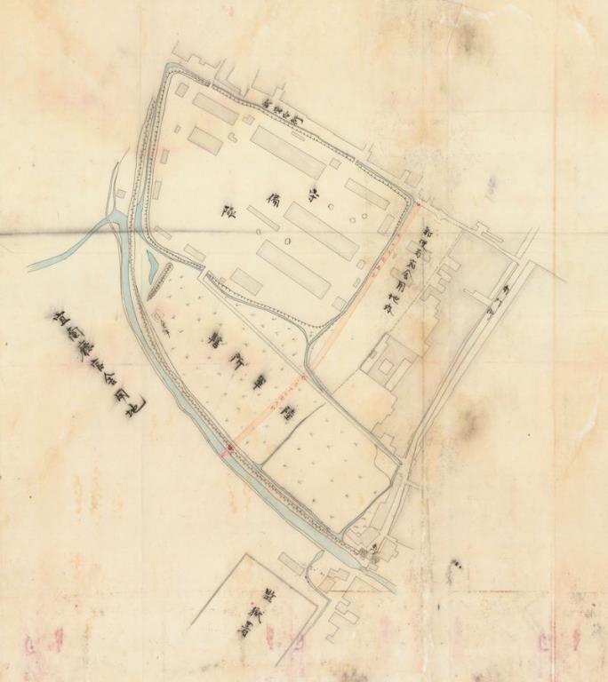 1900年宜蘭廳官舍土地購置檔案圖