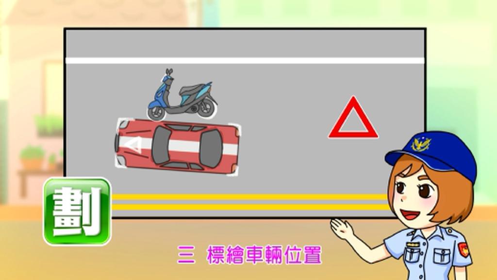 預防二次交通事故-劃