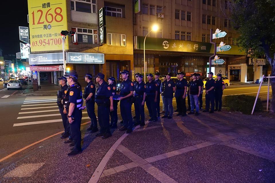 防止街頭聚眾暴力及酒醉駕車 羅東分局展執法決心01