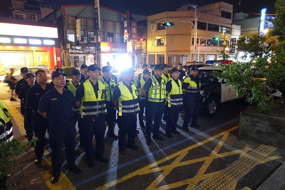 防止街頭聚眾暴力及酒醉駕車 羅東分局展執法決心03