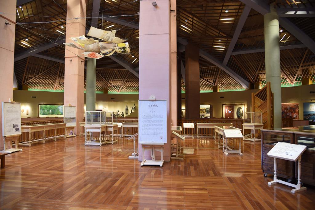 「歷史與寫歷史的人」展區