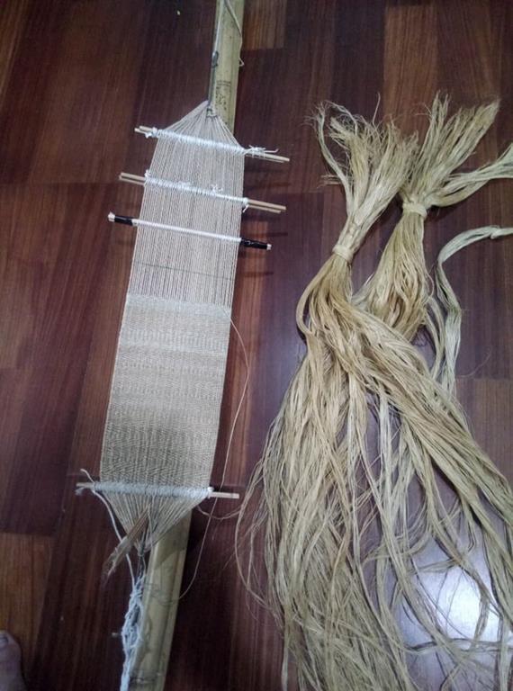 泰雅肩帶編織(wakin)