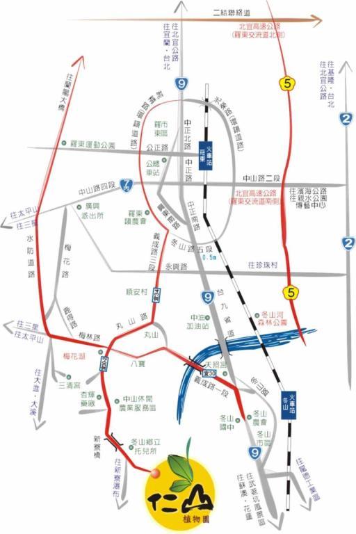 交通指引圖