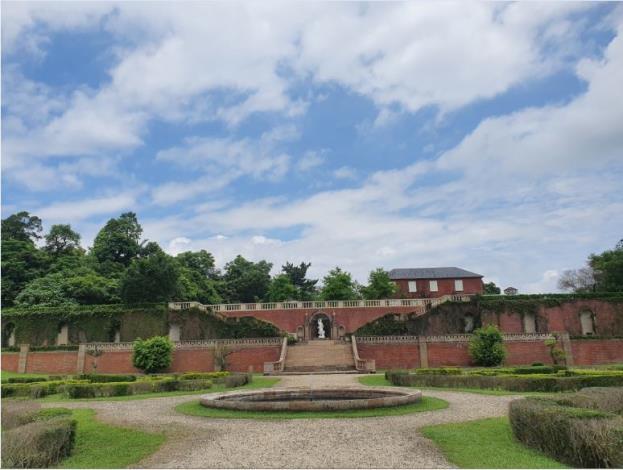 英法式庭園植物展示區