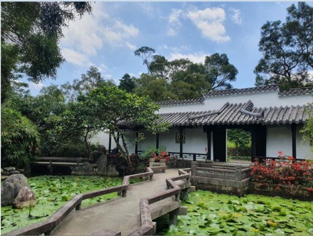 唐式庭園植物展示區