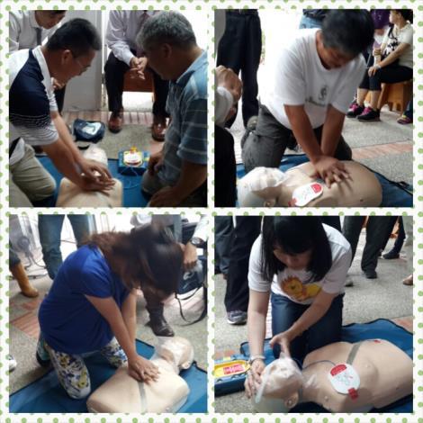 仁山植物園CPR AED90分鐘簡易版心肺復甦術教育訓練