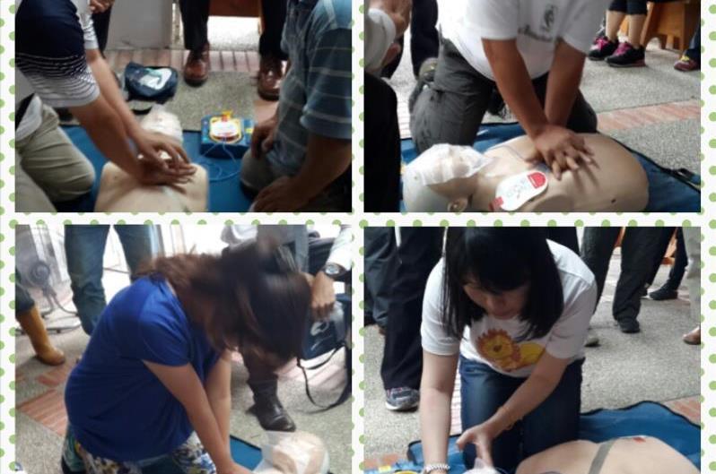 仁山植物園CPR+AED90分鐘簡易版心肺復甦術教育訓練