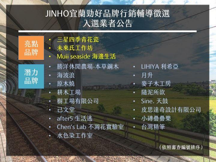 jinho公告名單